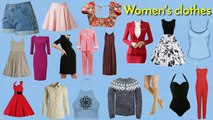 Clothes vocabulary _ Clothes in english _ Womens clothes vocabulary _ Easy engl