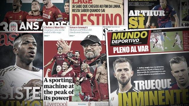Officialisation imminente pour l'échange XXL entre le Barça et la Juventus, Le sacre de Liverpool enflamme l'Angleterre