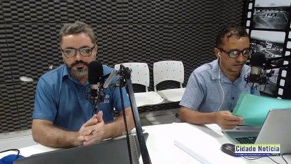 Acompanhe o programa Cidade Notícia desta sexta-feira (26) pela Líder FM de Sousa-PB