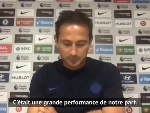 31e j. - Lampard espère de la constance de son équipe