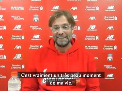 """Liverpool - Klopp : """"Un très beau moment de ma vie"""""""