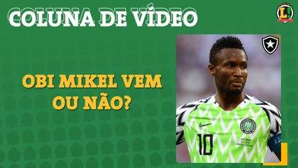 Mikel recusa oferta do futebol russo e reafirma desejo de jogar no Botafogo