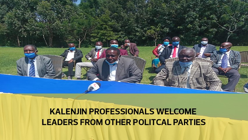 Kalenjin professionals welcome leaders from other politcal parties