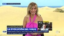 Un 'grillo' ha interrumpido a  Susanna Griso en directo en 'Espejo Público'