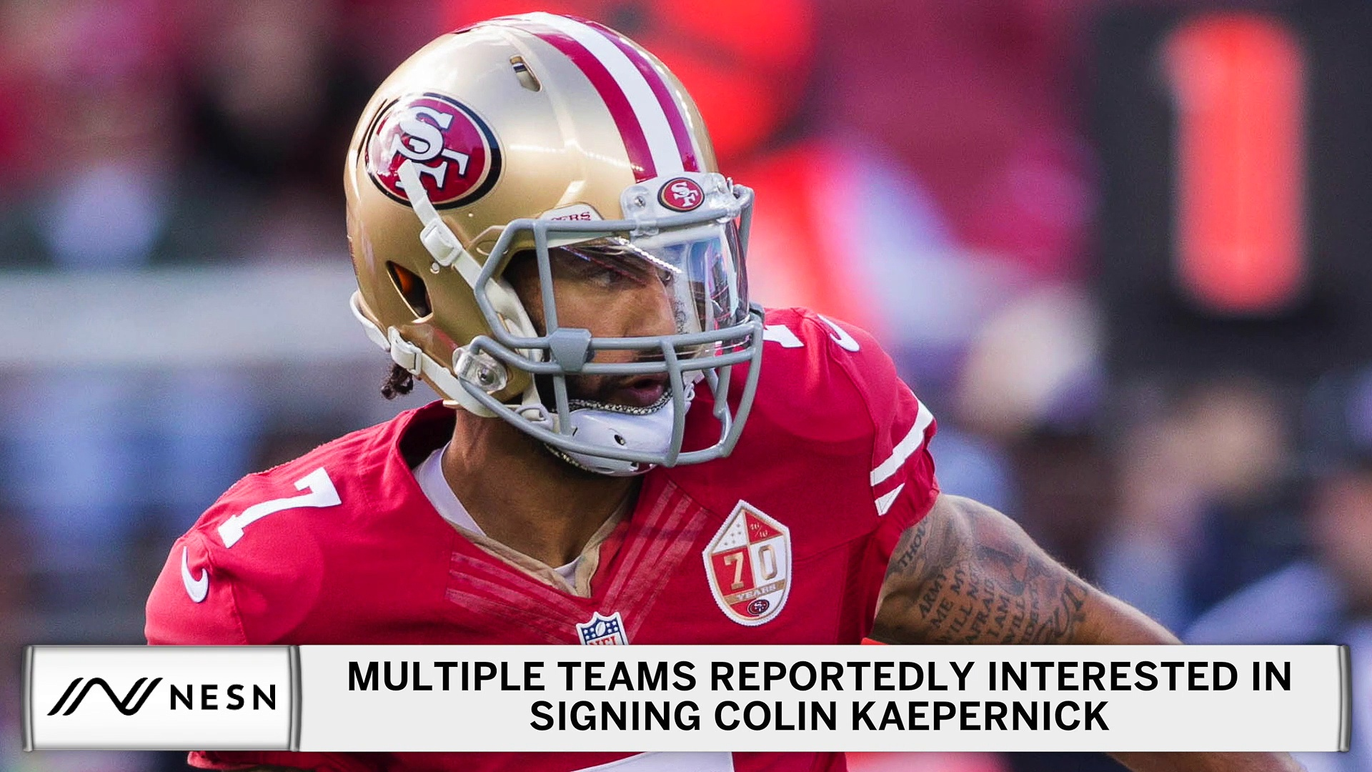 Colin Kaepernick Reportedly Drawing Interest From Multiple Teams