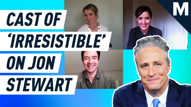 """The cast of """"Irresistible"""" rave about their director, Jon Stewart"""