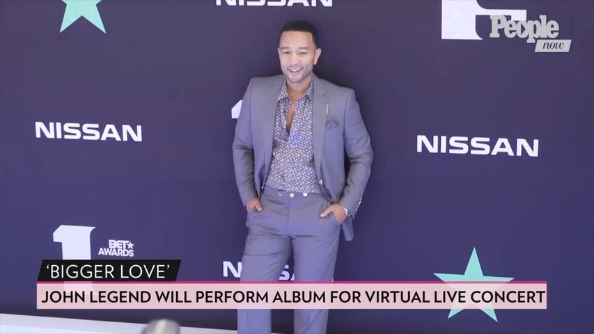 John Legend to Perform Songs from New Album Bigger Love During First-Ever Virtual Live Concert