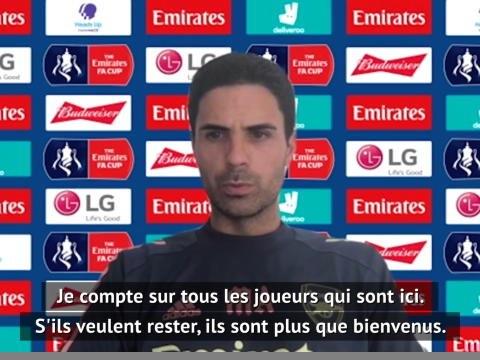 Arsenal - Arteta tend la main à Guendouzi