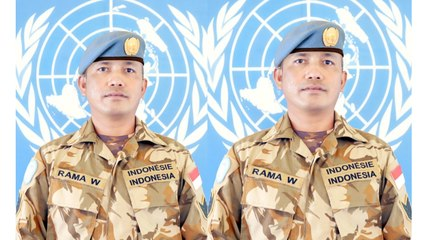 INNA LILLAHI WA INNA ILAIHI RAJIUN, PRAJURIT TNI AD GUGUR DI AFRIKA, KONGO. TINGGALKAN 3 ANAK MASIH KECIL