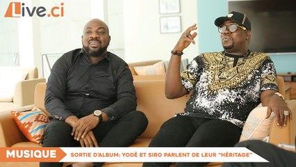 """Sortie d'album/ Yodé et Siro parlent de leur """"Héritage"""""""