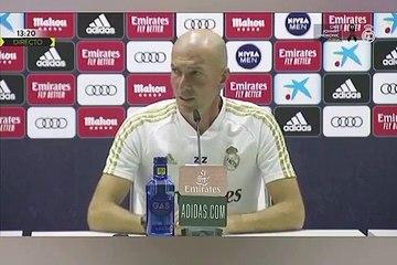 Zidane parle de Mahrez