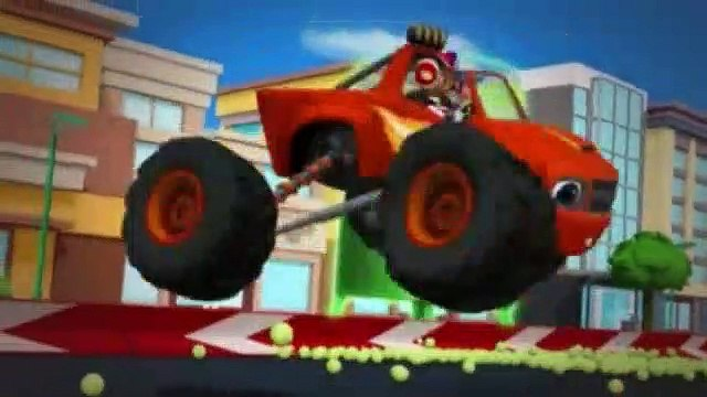 Blaze and the Monster Machines Season 2 Episode 12 Axle City Grand Prix