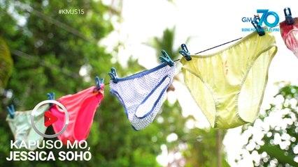 Kapuso Mo, Jessica Soho: Tirador ng nakasampay na underwear, mahuli na kaya?