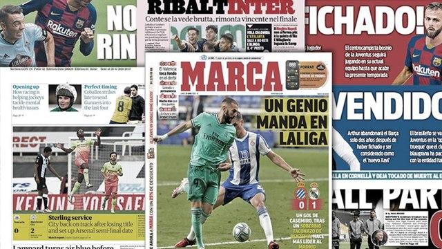 L'action de génie de Karim Benzema régale l'Europe, le Barça en pleine tempête
