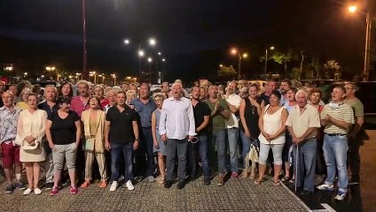 Une Marseillaise en fanfare pour la liste Allez Clermont-l'Hérault !
