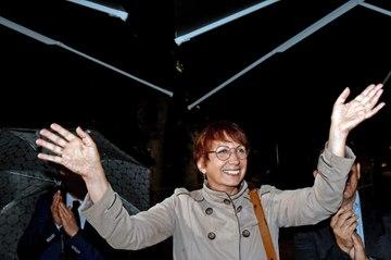 Municipales à Besançon : les images de l'élection d'Anne Vignot