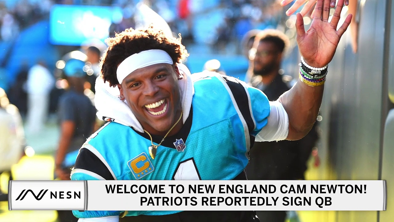Patriots Sign Former Panthers Quarterback Cam Newton