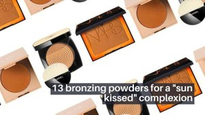 """13 Bronzing Powders For A """"Sun Kissed"""" Complexion"""