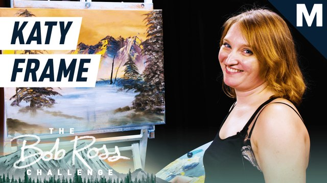 Katy Frame challenges Bob Ross...again— The Bob Ross Challenge