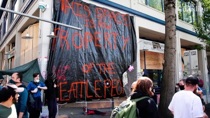 'Illegal': mayor says Trump cannot disband Seattle's 'autonomous zone' – video