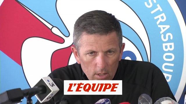 Laurey : «On veut un bon essuie-glace» - Foot - L1 - Strasbourg