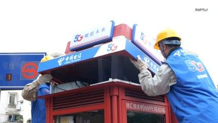 Xangai traz de volta as cabines telefônicas públicas como mini estações de 5G