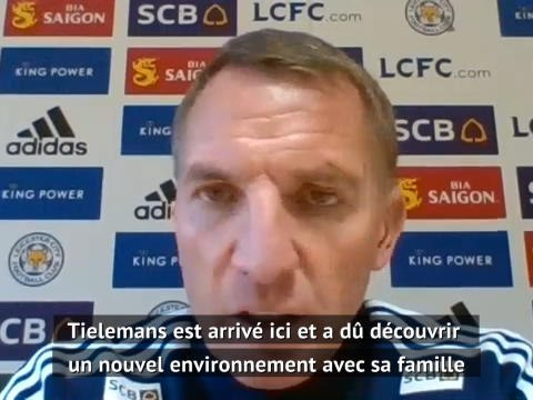 """Leicester - Rodgers : """"Tielemans va montrer pourquoi nous avons investi autant d'argent sur lui"""""""
