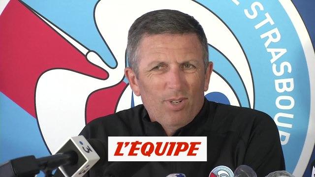 Laurey pas fan des nouveaux horaires de la Ligue 1 - Foot - L1 - Strasbourg