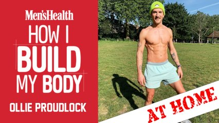 Made in Chelsea's Ollie Proudlock's 'AT HOME' Bodyweight Workout