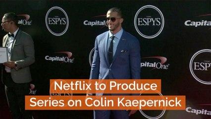 Colin Kaepernick Gets A Netflix Series
