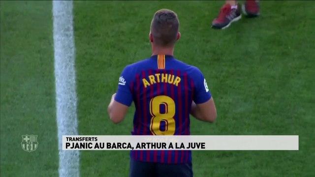 Pjanic au Barça, Arthur à la Juve