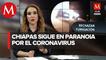 Vandalizan casas en San Andrés Larrainzar, Chiapas, en protesta por desinfección