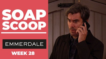 Emmerdale Soap Scoop! Cain gets shocking news