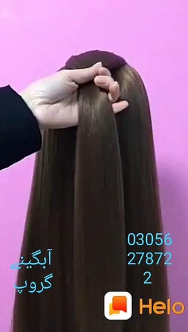 Hair style,  easy hair style , party look hair style