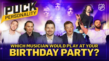 Puck Personality: Which musician would play at your birthday party?