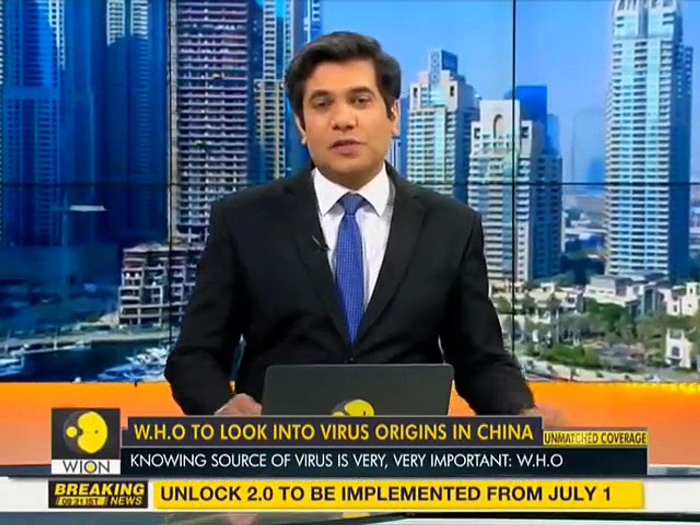 W.H.O to send a team to China to investigate COVID-19 virus origin