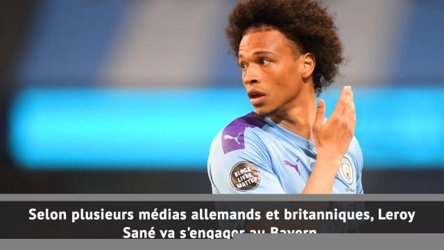 Transferts - Accord City-Bayern pour Sané !