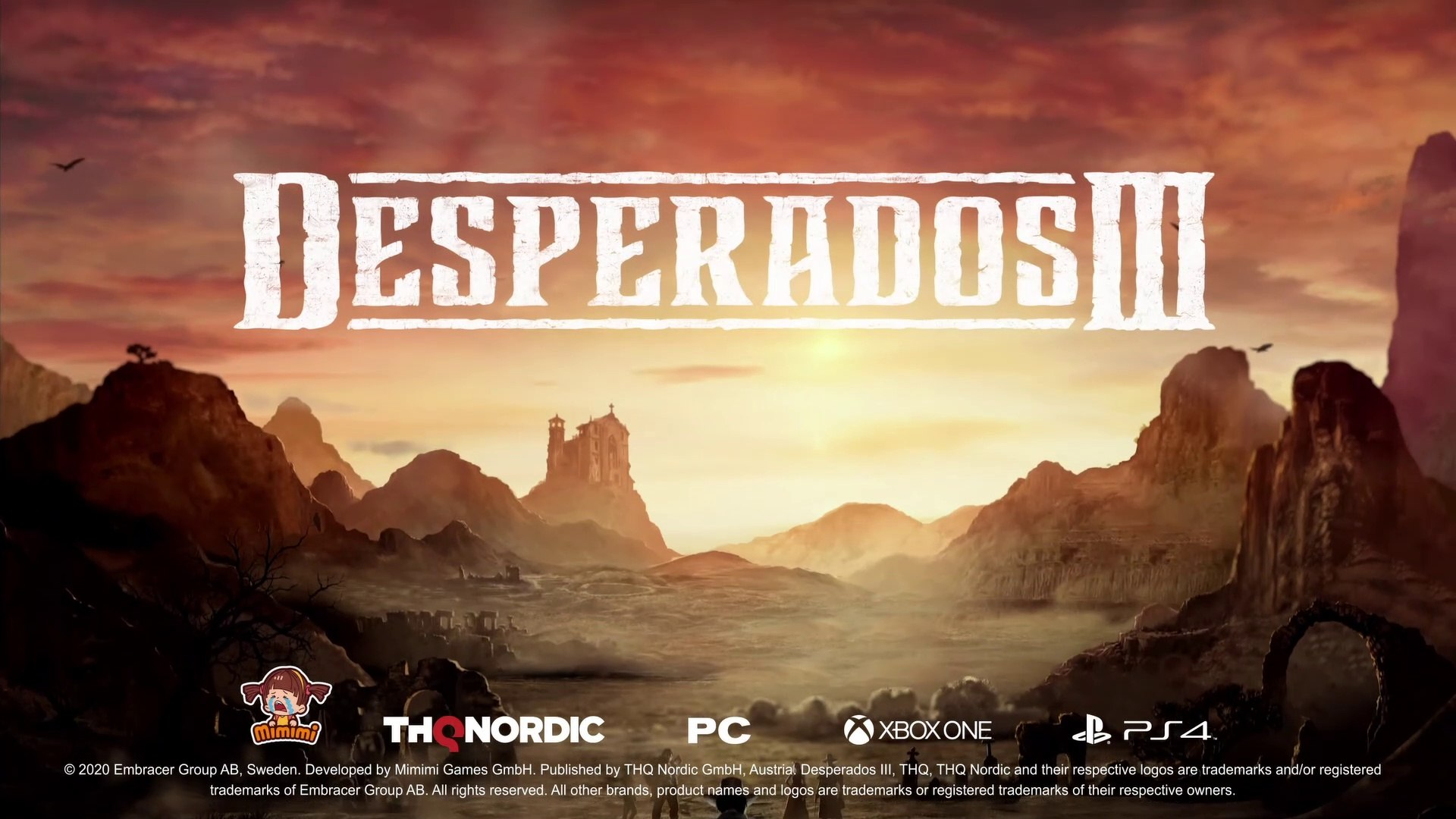 Desperados 3 Official Accolades Trailer 2020 Video Dailymotion