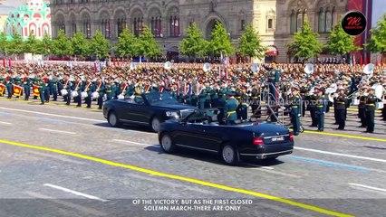 75th Anniversary of  World War II Victory Day Parade - English Version   Russia   MC Medacorp   TV BRICS