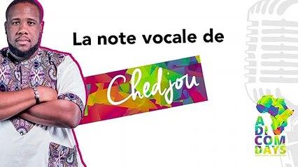 La note vocale de Chedjou : Nouveautés Social Media #1