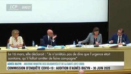 """""""Ces verbatims ne m'ont jamais été soumis"""" : Agnès Buzyn revient sur ses propos polémiques dans """"Le Monde"""""""