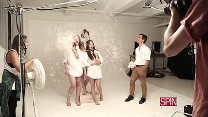 SPIN's Behind the Scenes: HAIM Cover Shoot