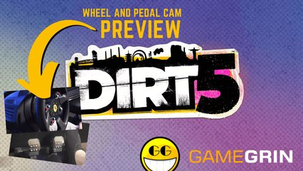 DIRT 5 Preview (Featuring wheel and pedal cam)