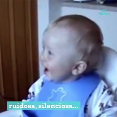 La risa de los bebés es muy contagiosa