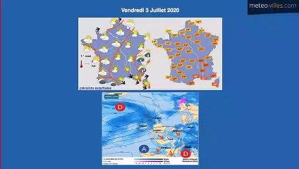 Bulletin Météo du 01 07 2020