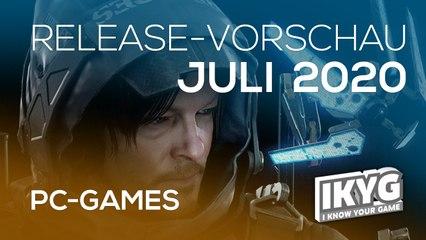 Games-Release-Vorschau - Juli 2020 - PC
