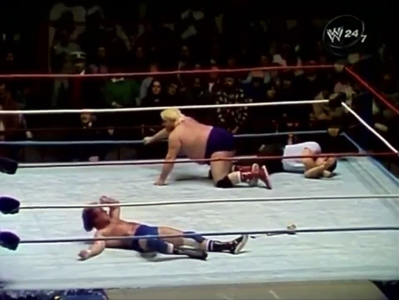 Roddy Piper vs Adrian Adonis Toronto Maple Leaf Gardens February 1987
