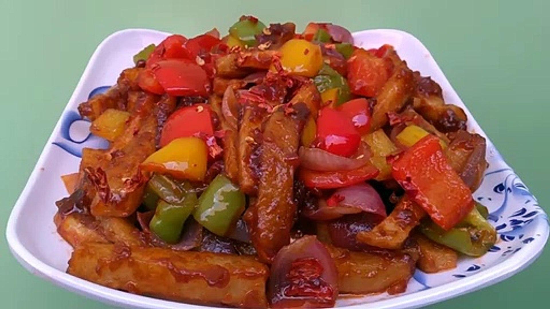 Chilli Potato Recipe | Starter Recipe | Ajmer Recipe | Ajmer Rasoi Khazaana