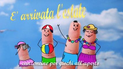 G. P. - E' arrivata l'estate- canzoncine per giochi all'aperto #Canzonibambini e Musica per bambini