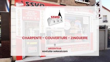 SSVD, charpente, couverture et zinguerie à Argenteuil.